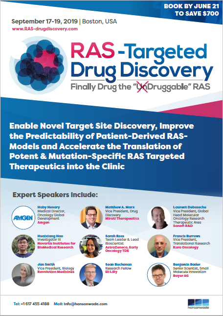 Brochure Download for RAS-Targeted Drug Discovery Summit 2019